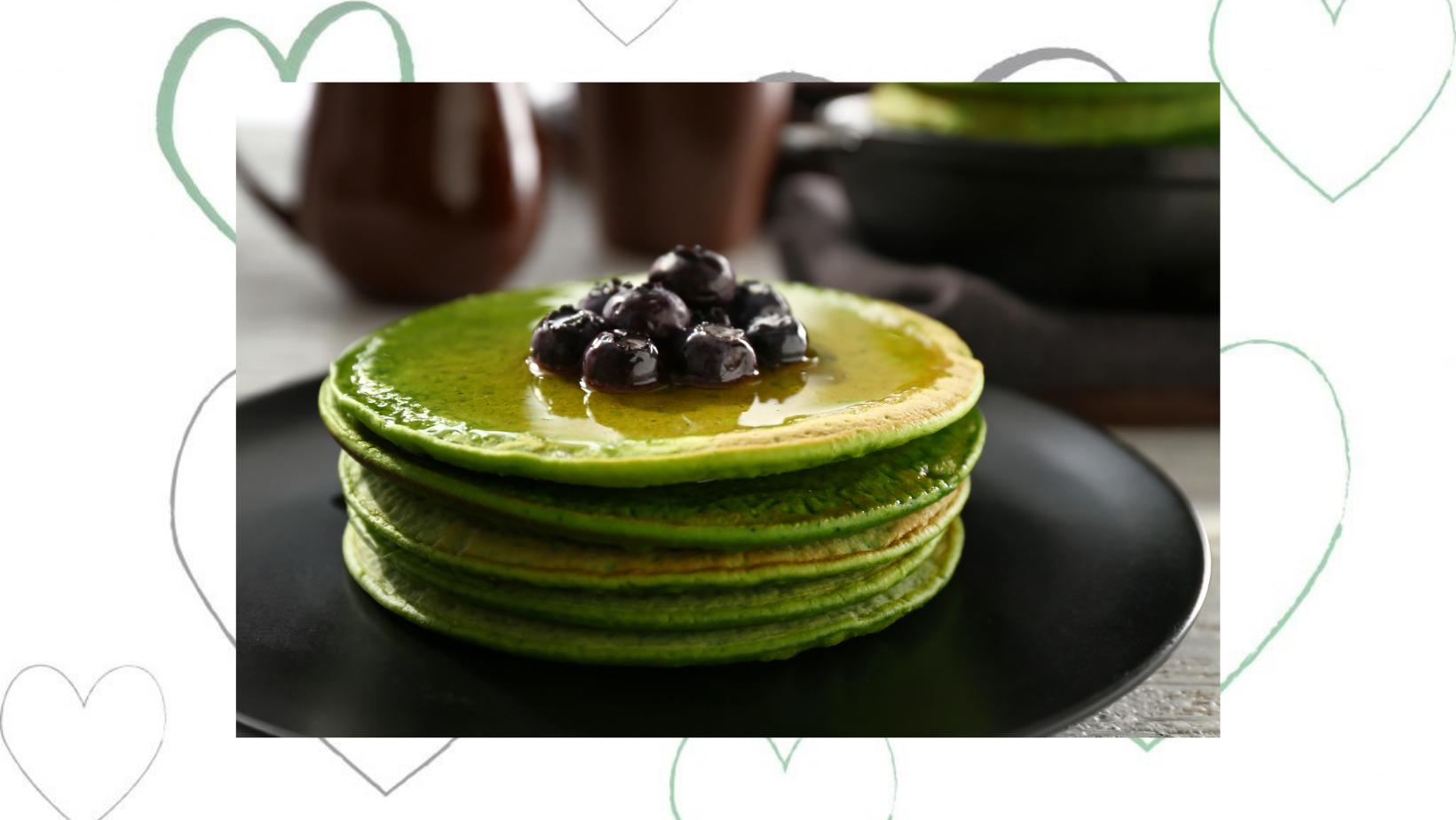Lets make Green Pancakes